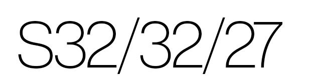 S32/32/27