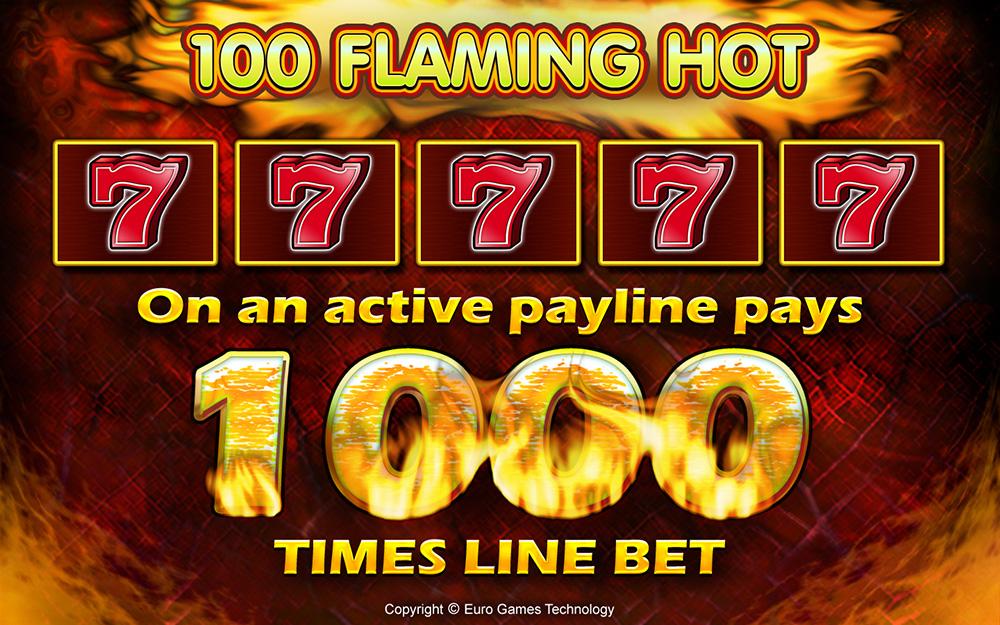 100 Flaming Hot