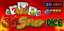 30 Spicy Dice