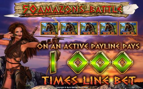 50 Amazons` Battle
