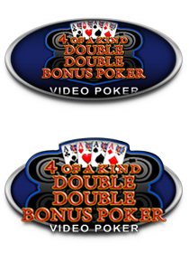 4 of a Kind Double Double Bonus Poker