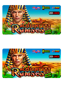 Almighty Ramses II both ways