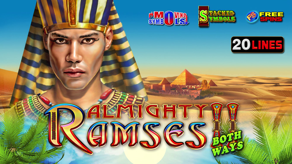 Almighty Ramses II both ways