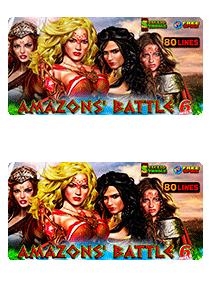 Amazons` Battle  6 reels