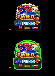 30 Spinning 7`s