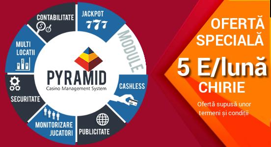 Made for Success: Preia controlul locațiilor tale cu Pyramid Casino Management System!