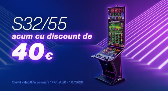 S32/55 – gama S-line – discount 40 E