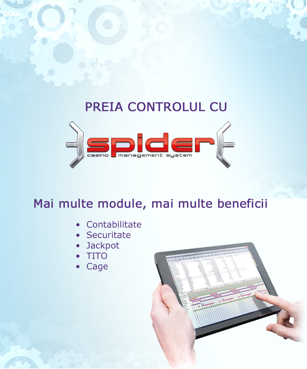 Spider Casino Management System