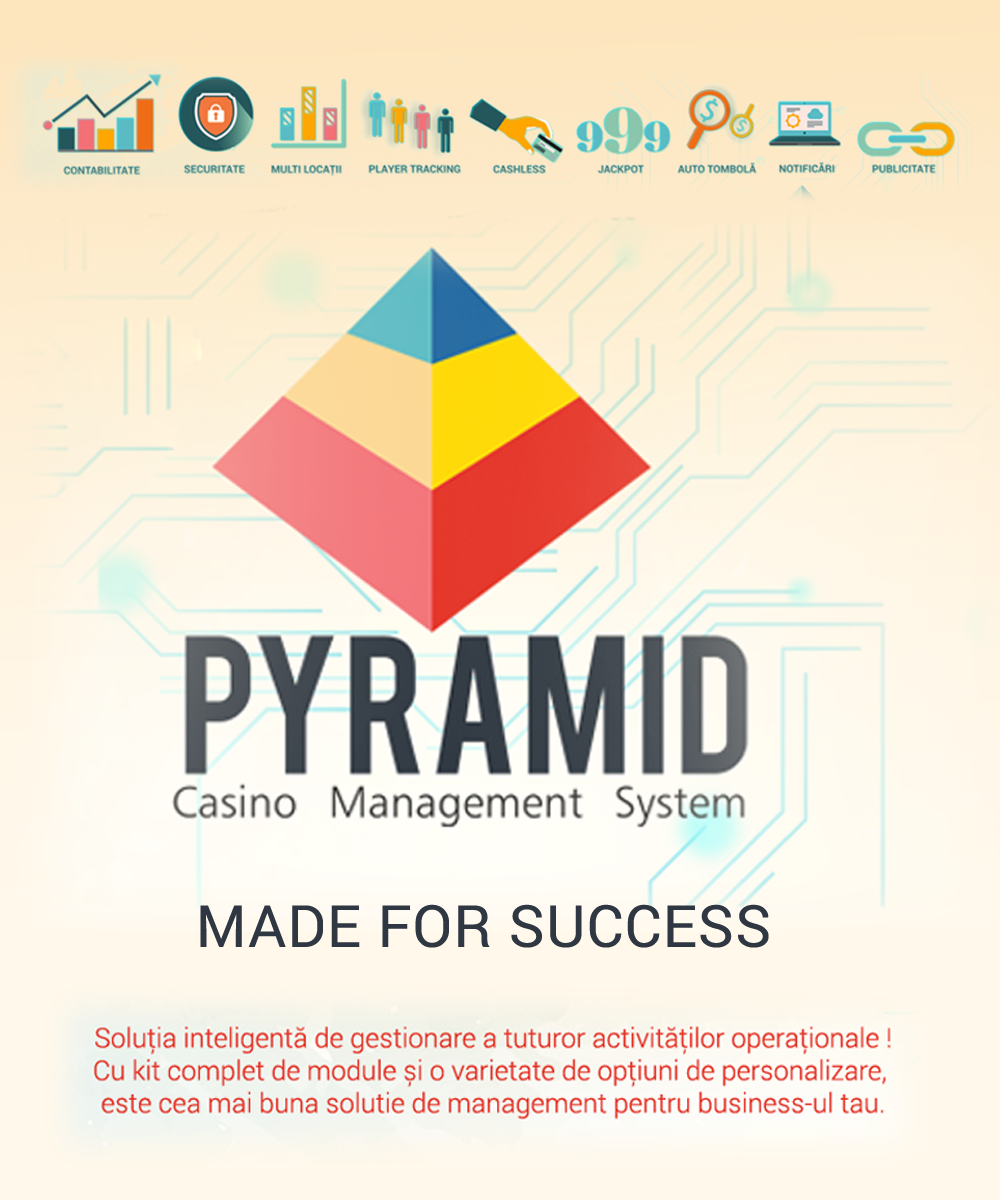 Pyramid Casino Management System