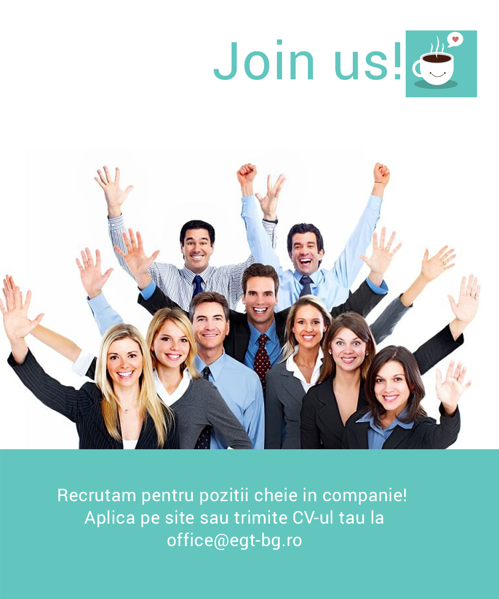 Joburi noi disponibile in echipa EGT Romania