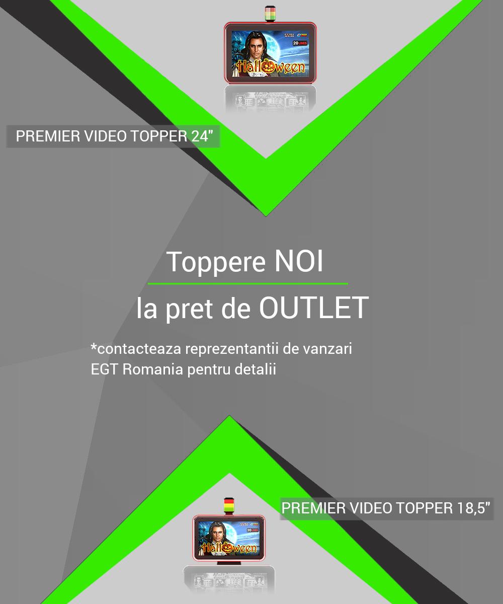 Video Topper Premier NOI la pret de OUTLET